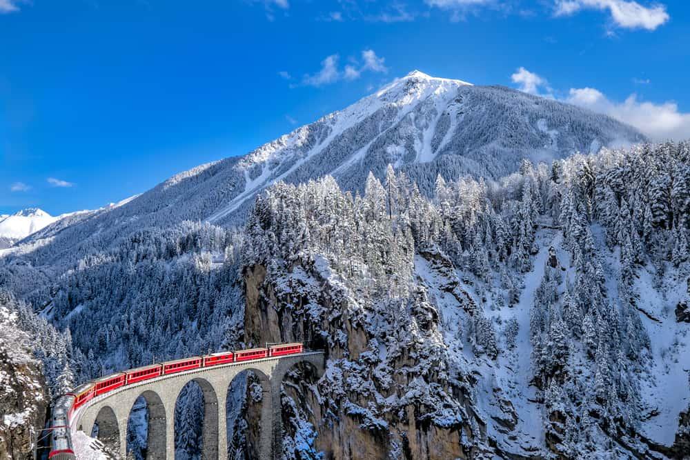 Glacier Express İsviçre