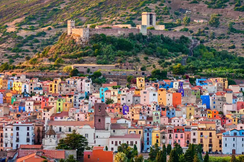 Bosa Köyü, İtalya