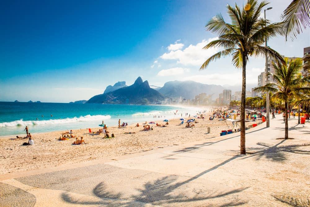 Copacabana, Rio, Brezilya
