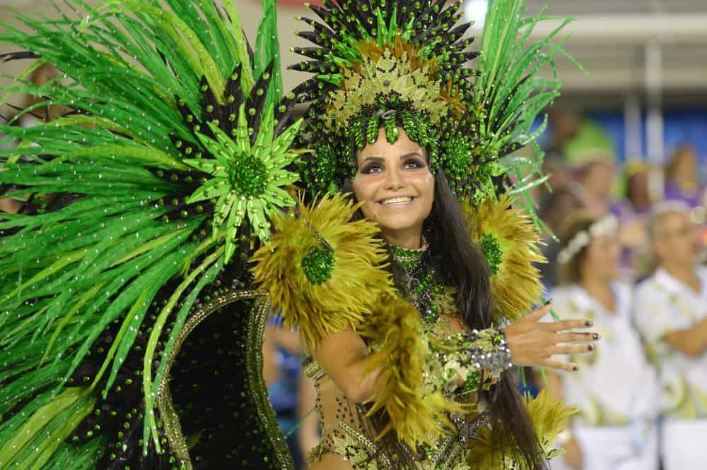 Rio Karnavalı Brezilya