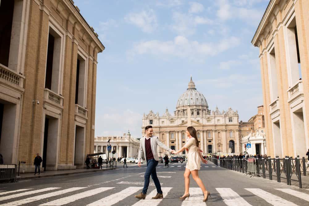 Roma, İtalya Romantik