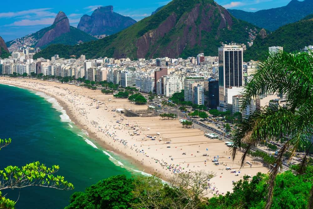 Copacabana Plajı Rio Brezilya