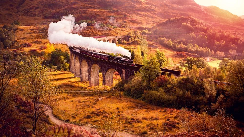 İskoçya tren