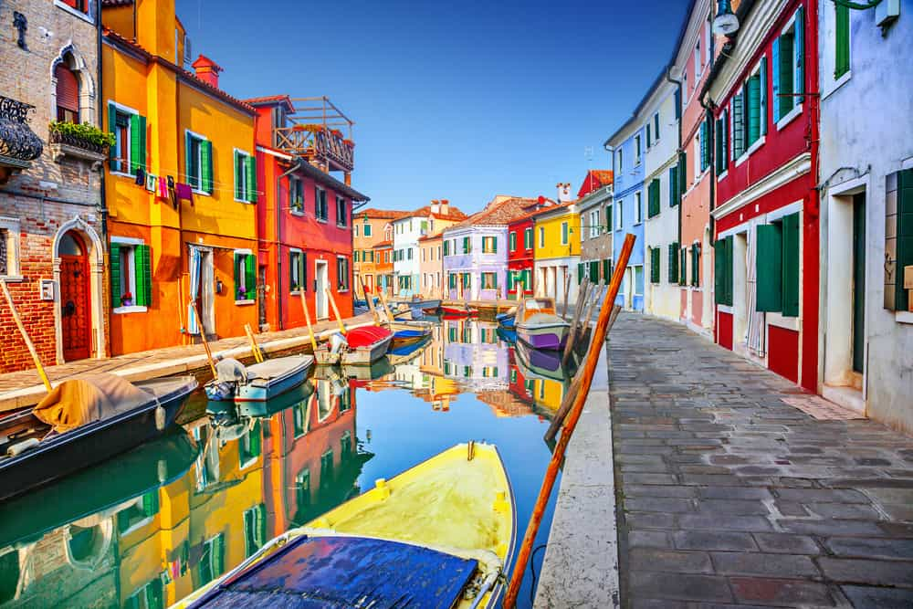 Burano, Venedik, İtalya