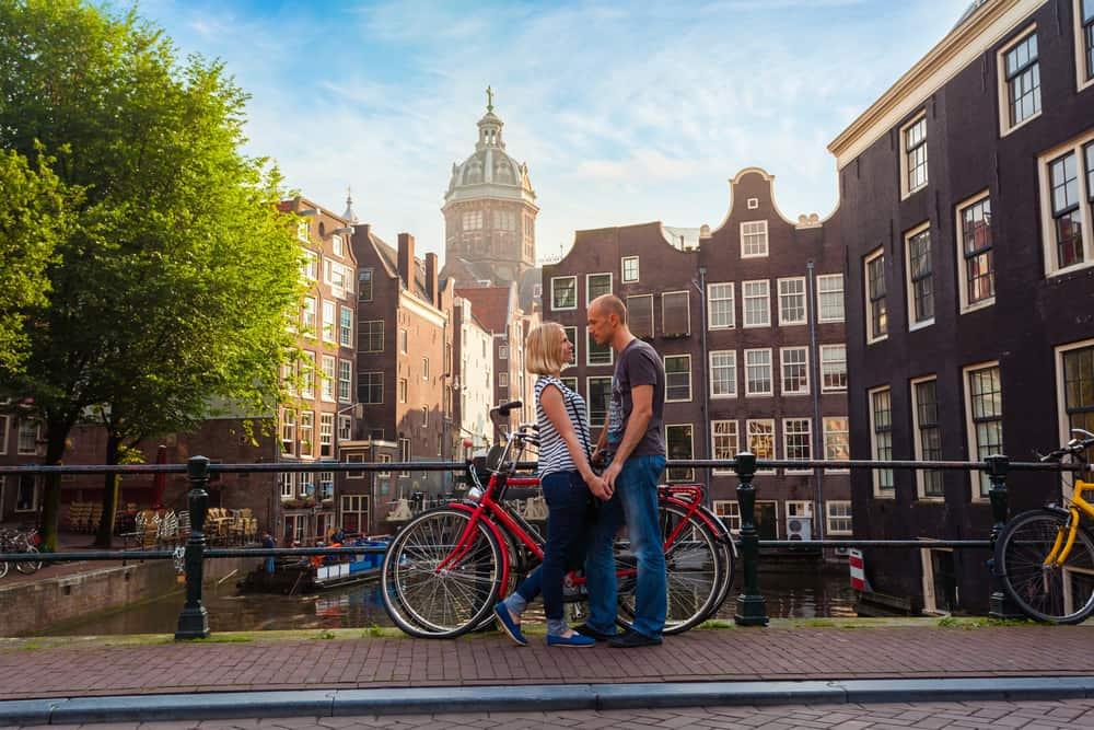 Amsterdam, Hollanda Romantik