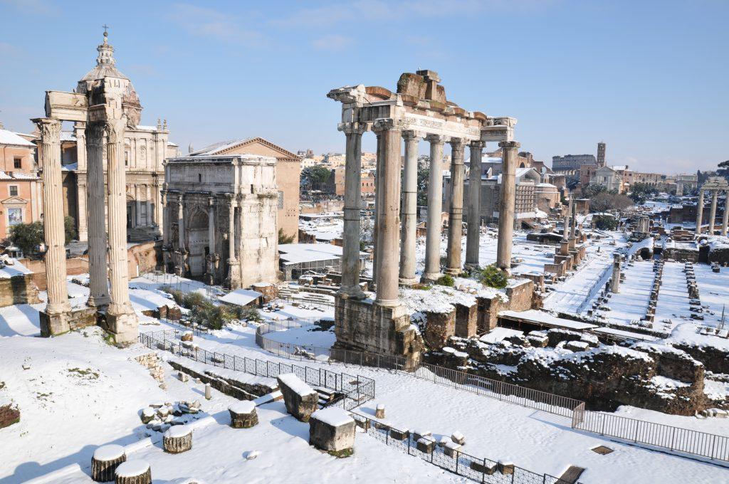 Roma, İtalya Kış