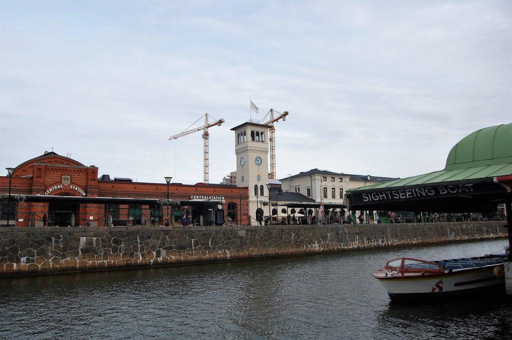 malmö Centralstation & boat tour