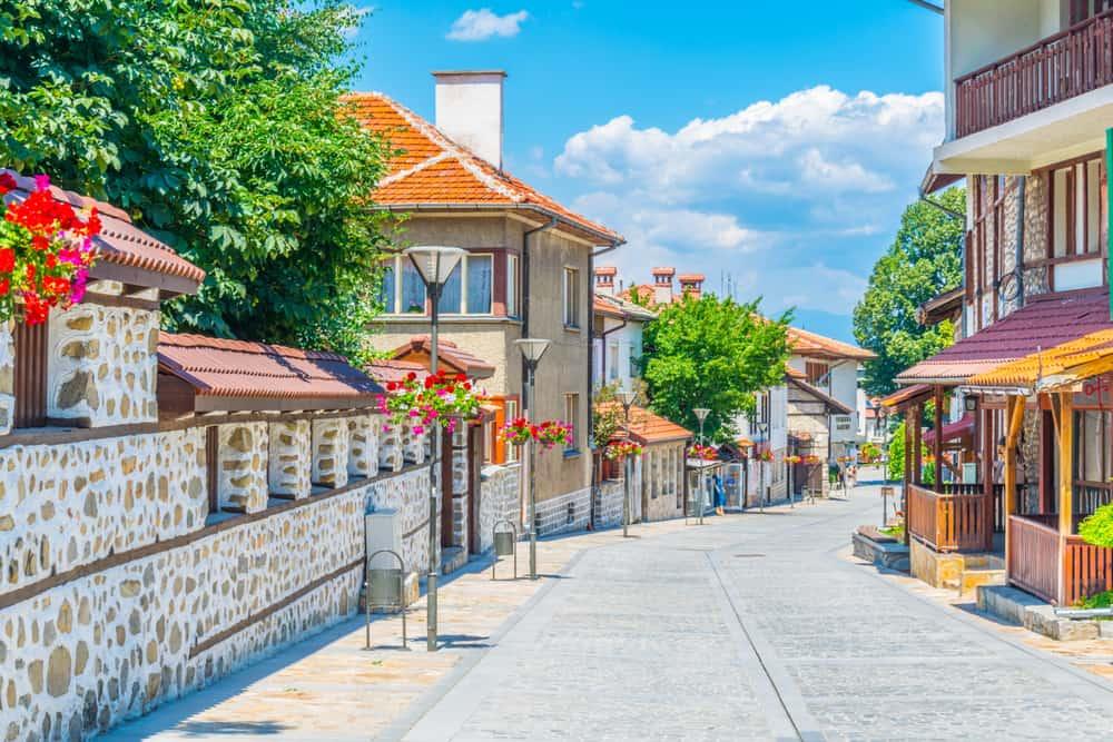 Pirin Caddesi Bansko Bulgaristan