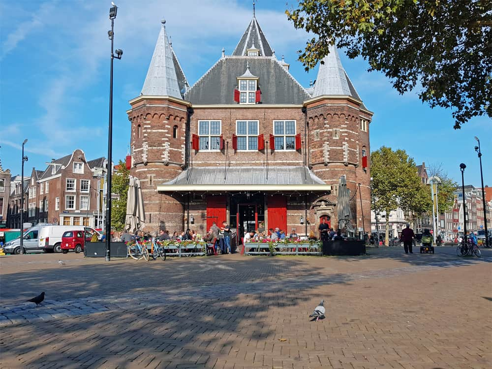 The Waag Amsterdam New Market