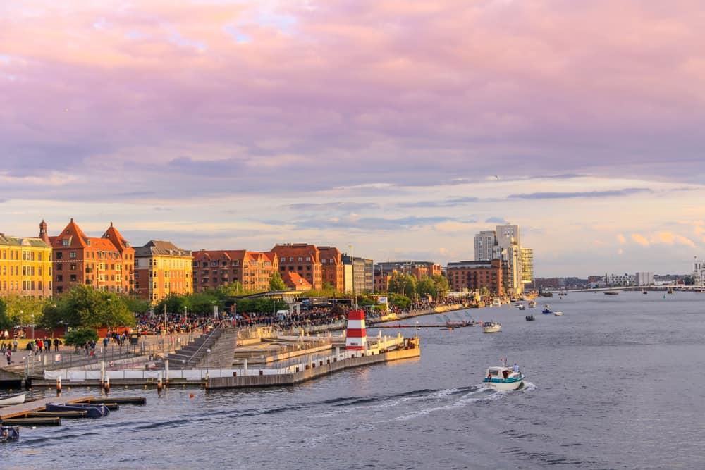 Kopenhag'ın Konumu ve Yer Şekilleri
