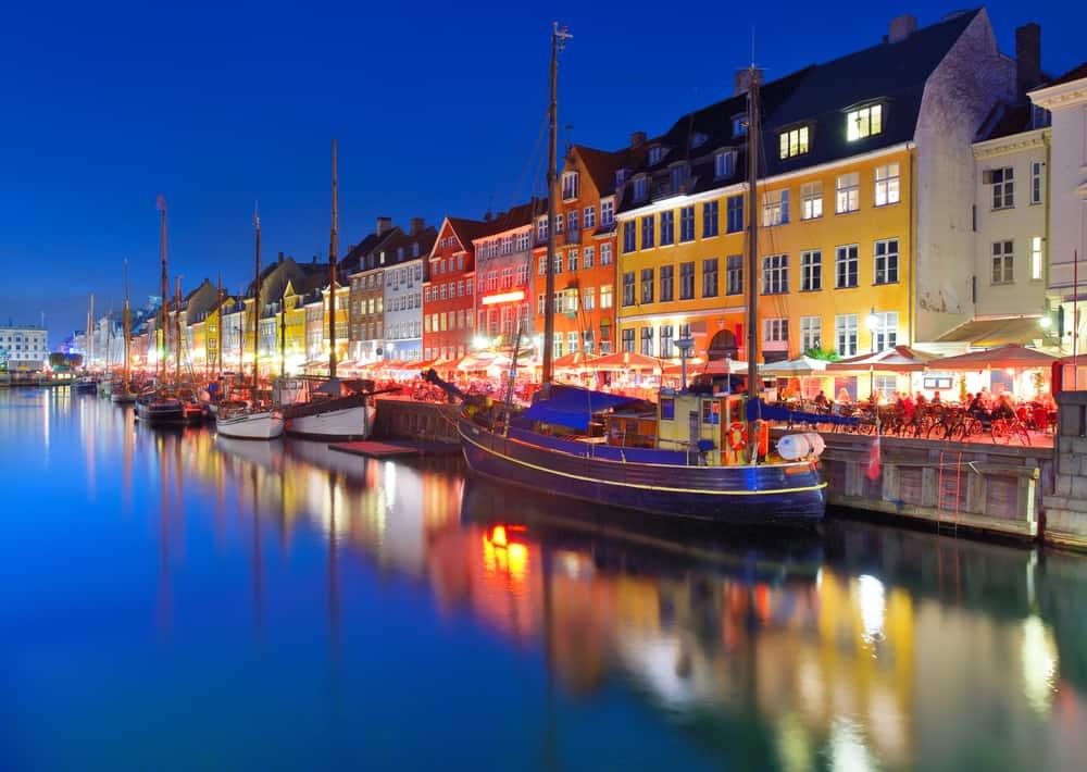 Kopenhag'da Gece Hayatı