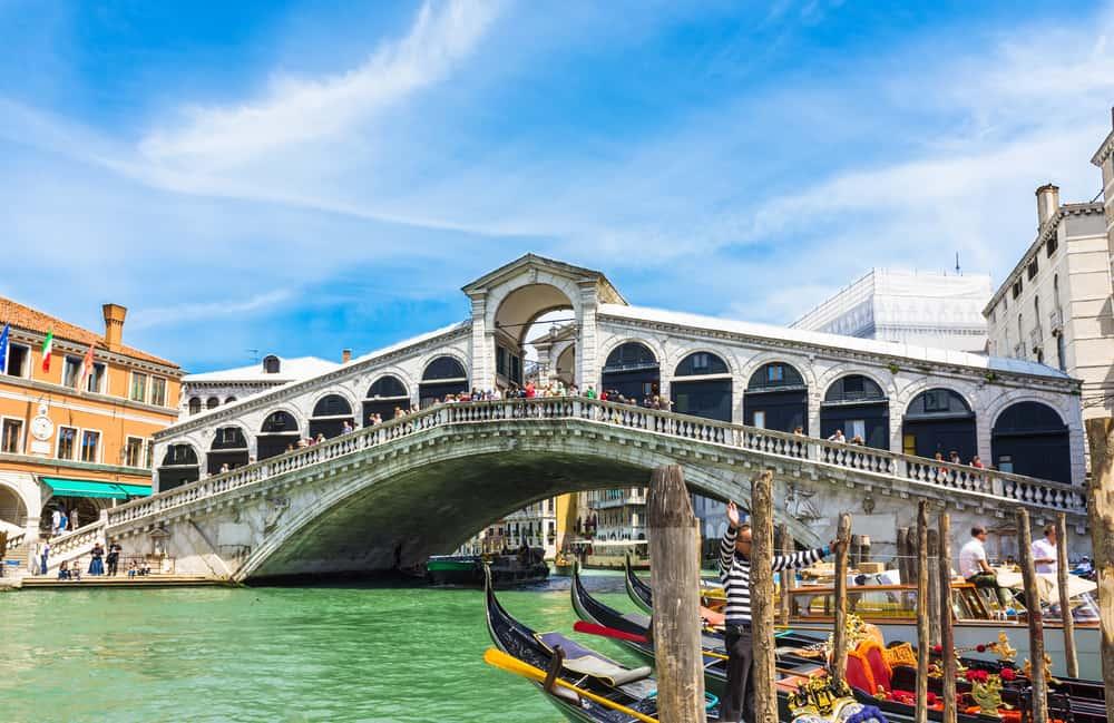 Rialto Köprüsü Venedik