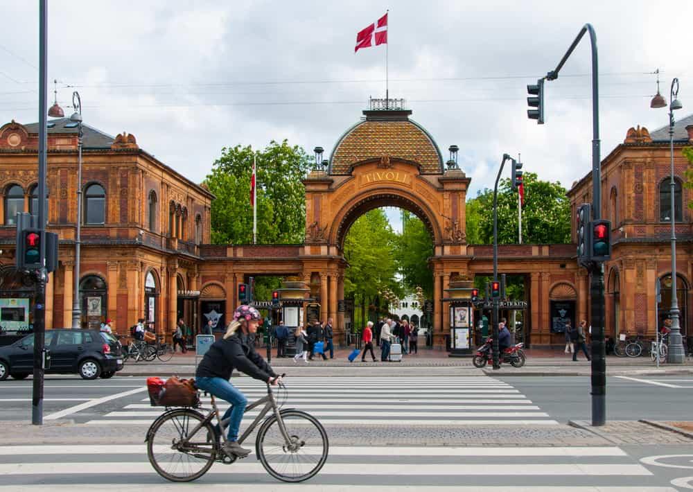 Kopenhag Danimarka, Bisiklet