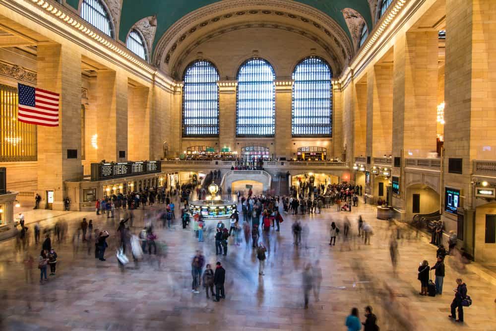 Grand Central Tren Garı New York