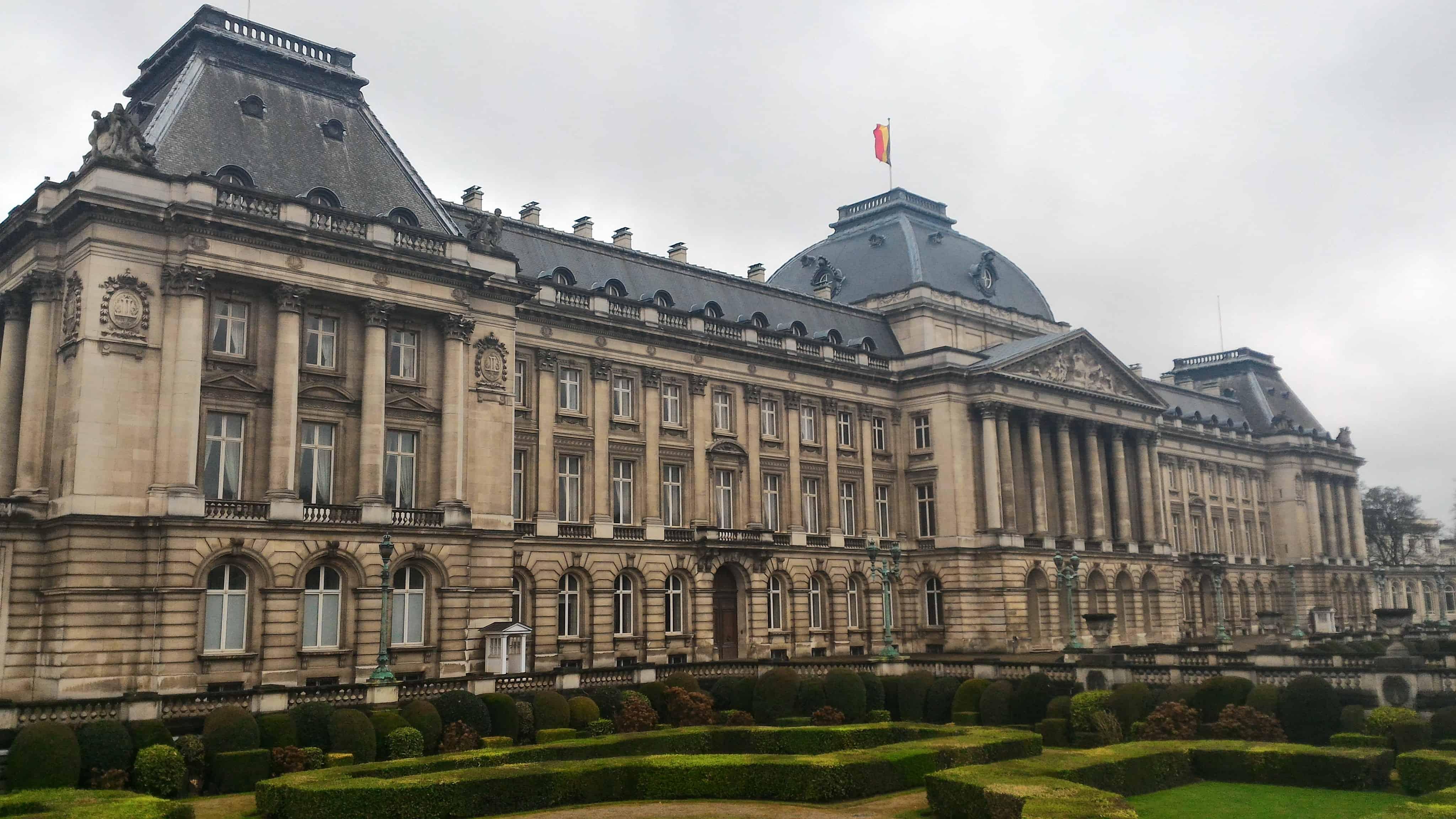 Belçika Kraliyet Sarayı Brüksel