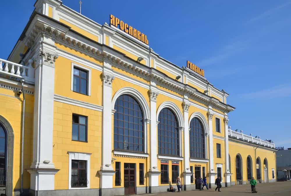 Yaroslavskaya Tren İstasyonu, Moskova, Rusya