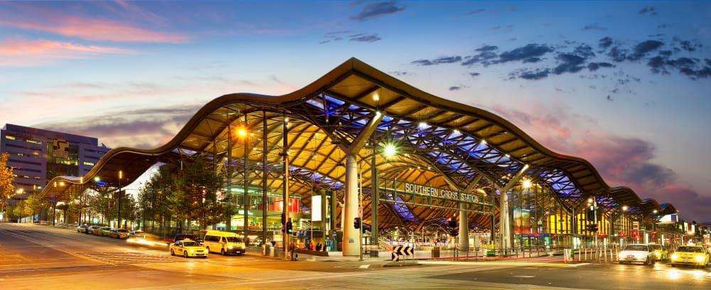Southern Cross Tren İstasyonu, Melbourne, Avustralya