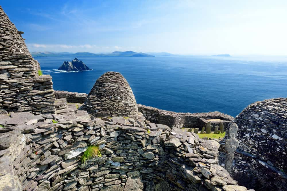 Skellig Michael Adası ve Brow Head, İrlanda