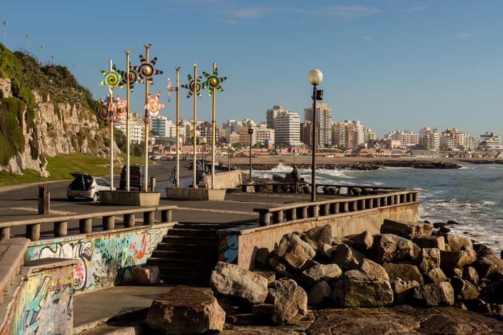 Mar del Plata Plajları, Buenos Aires, Arjantin