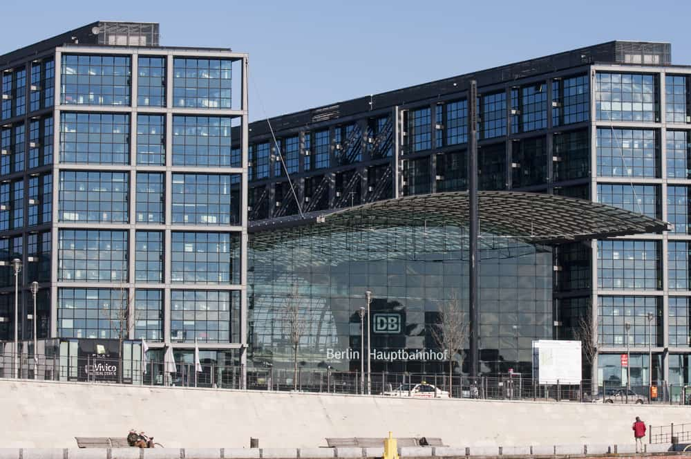 Berlin Hauptbahnhof, Berlin, Almanya