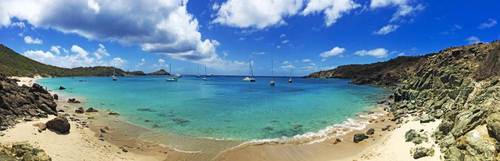 Colombier Plajı, St Barts, Fransız Polinezyası