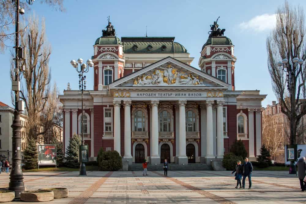 Ivan Vazov Ulusal Tiyatrosu Sofya