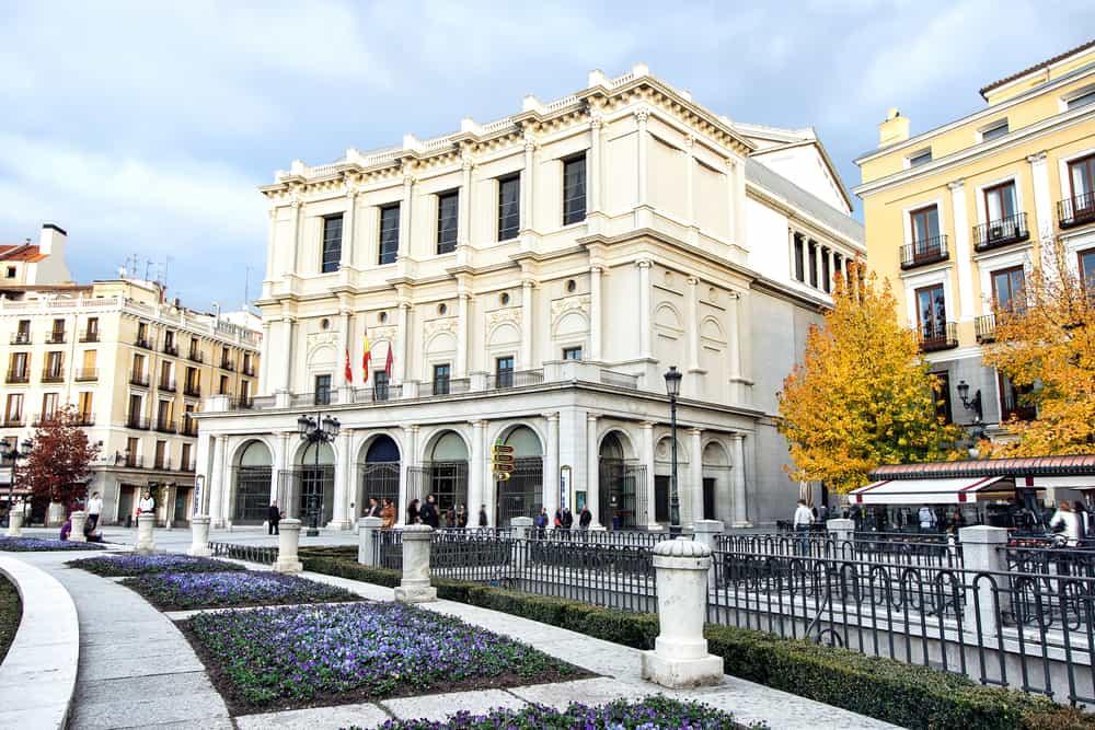 Teatro Real (Kraliyet Tiyatrosu) Madrid