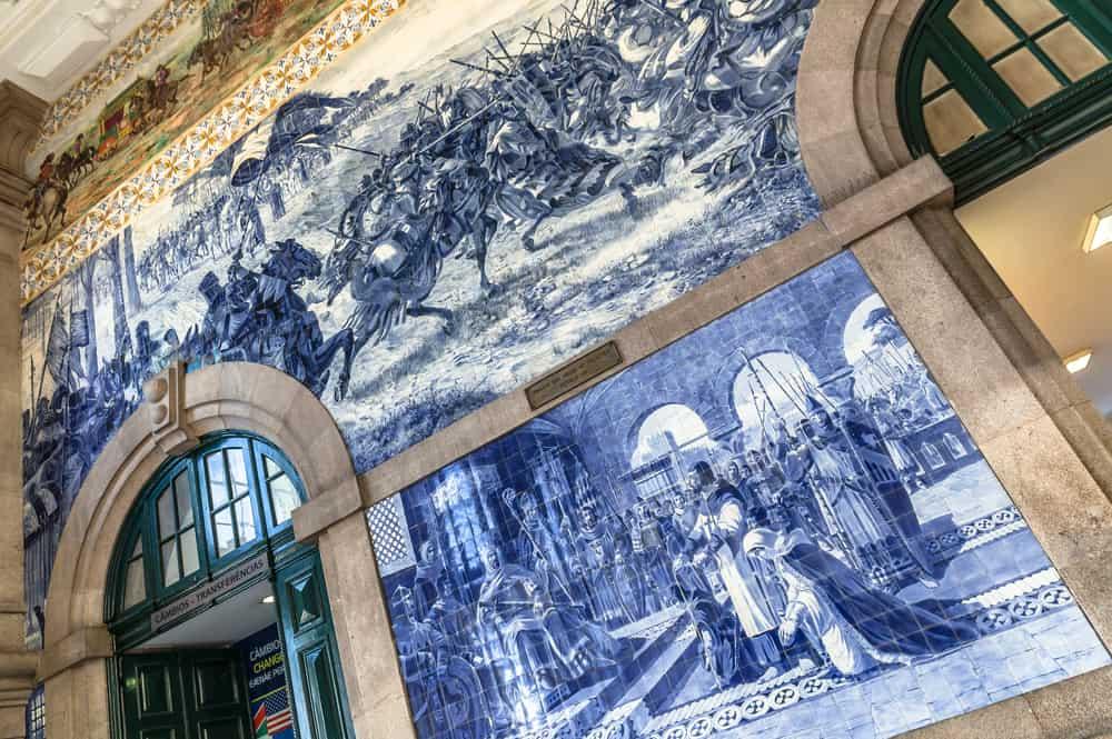 Sao Bento Tren İstasyonu, Porto, Portekiz