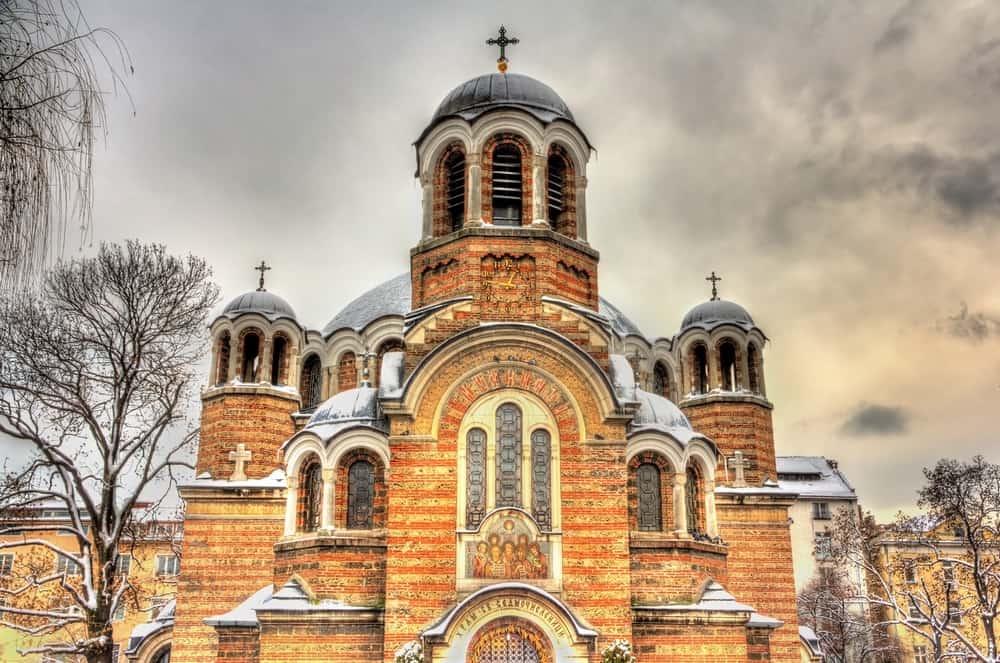 Sveti Sedmochislenitsi Kilisesi (Kara Cami) Sofya