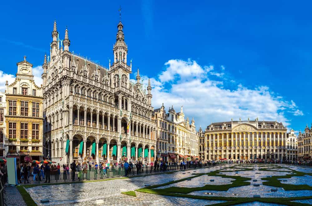 Brüksel Grand Palace