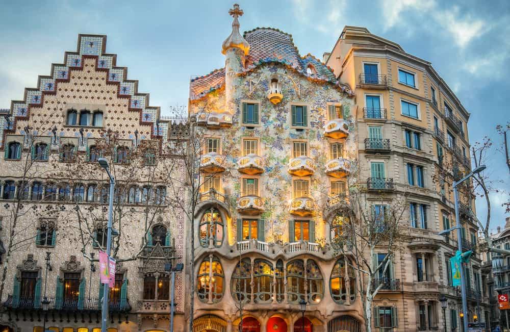 Casa Batllo (Kemikli Ev) Barcelona