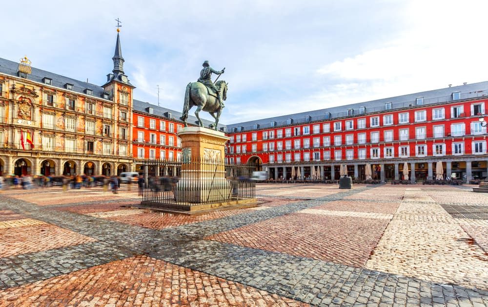 Plaza Mayor (Ana Meydan) Madrid