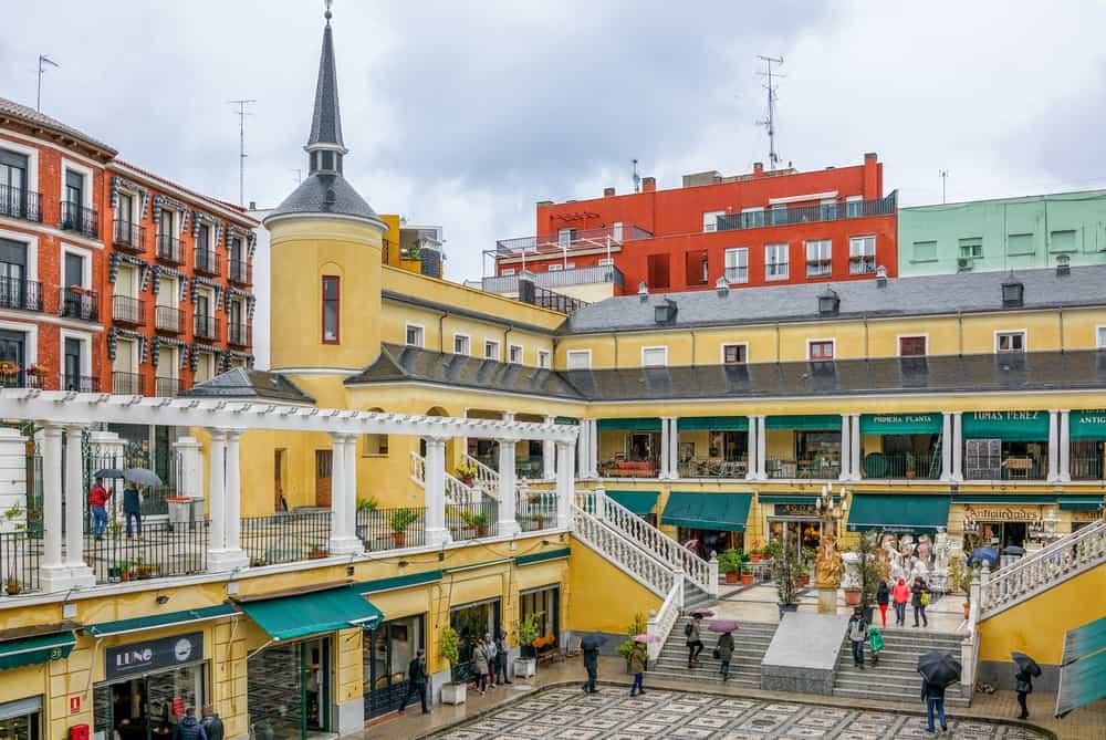 El Rastro Pazarı Madrid