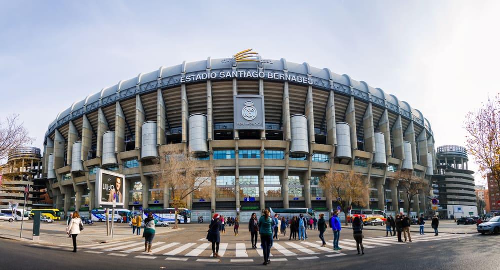 Santiago Bernabeu Stadyumu Madrid