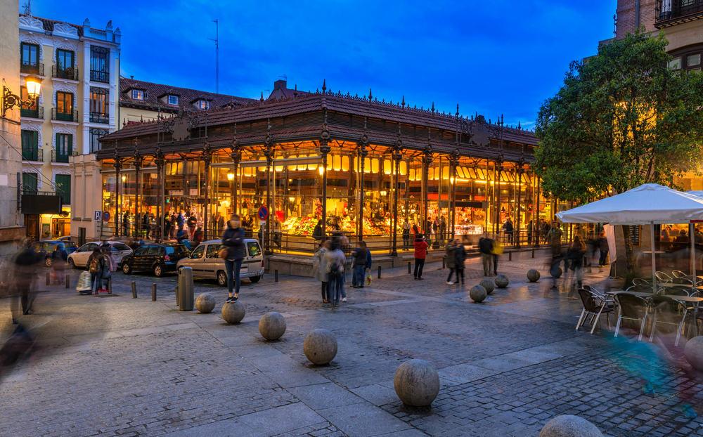 Mercado De San Miguel (San Miguel Pazarı) Madrid