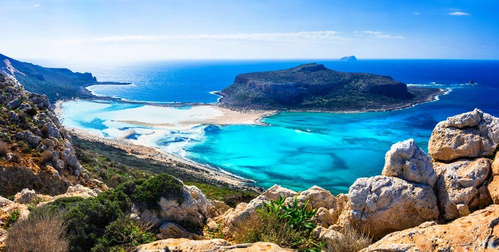 Balos Plajı, Gramvousa, Yunanistan