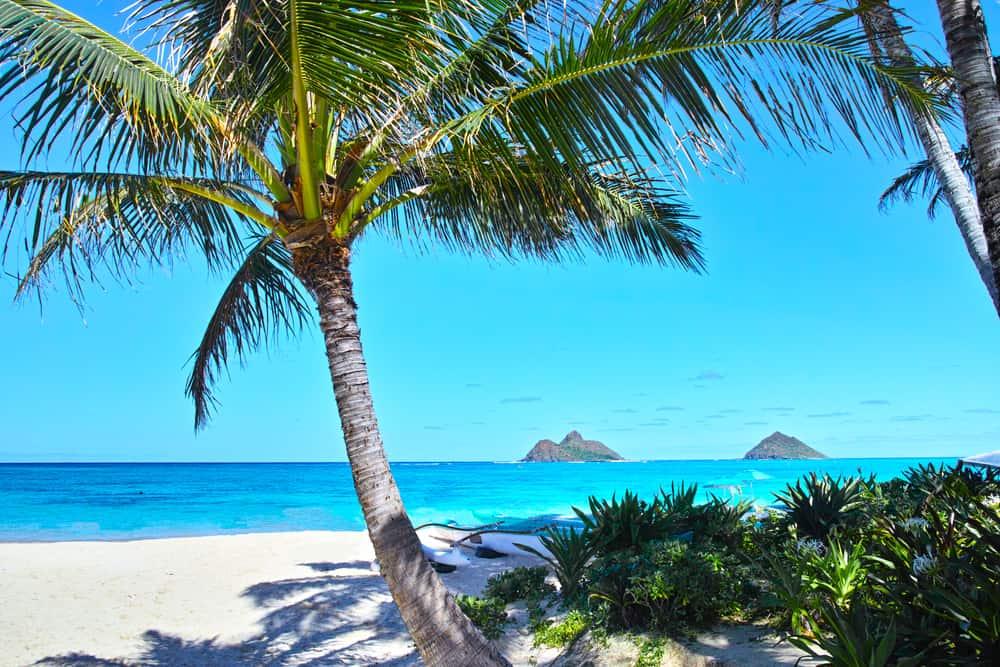 Lanikai Plajı, Hawaii, Amerika Birleşik Devletleri