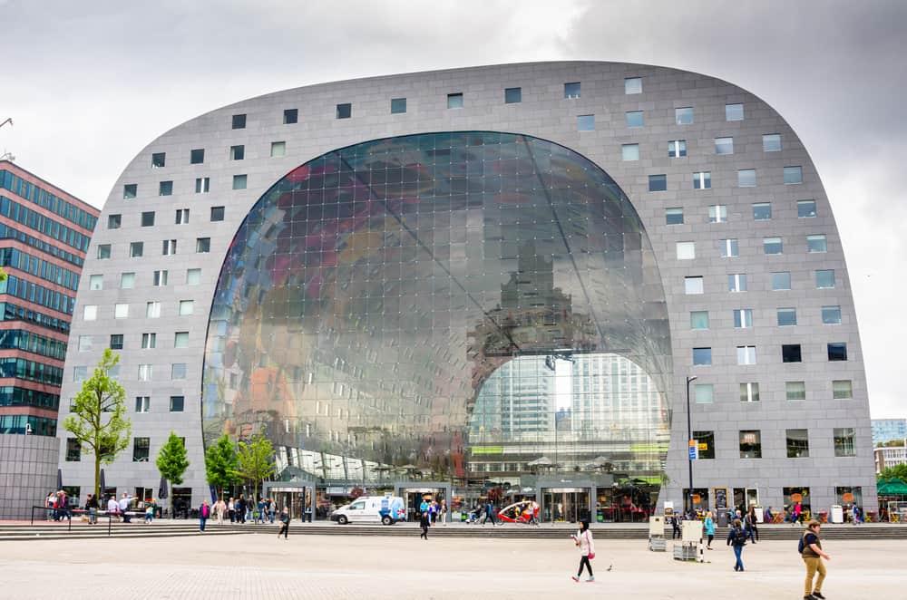 Rotterdam Markthal Pazar Yeri