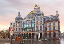 Antwerp Merkez Tren İstasyonu, Anvers, Belçika