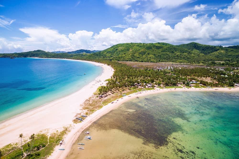 Nacpan Plajı, El Nido, Filipinler