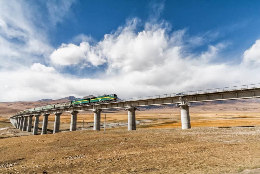 Tanggula Tren İstasyonu, Tibet, Çin Halk Cumhuriyeti