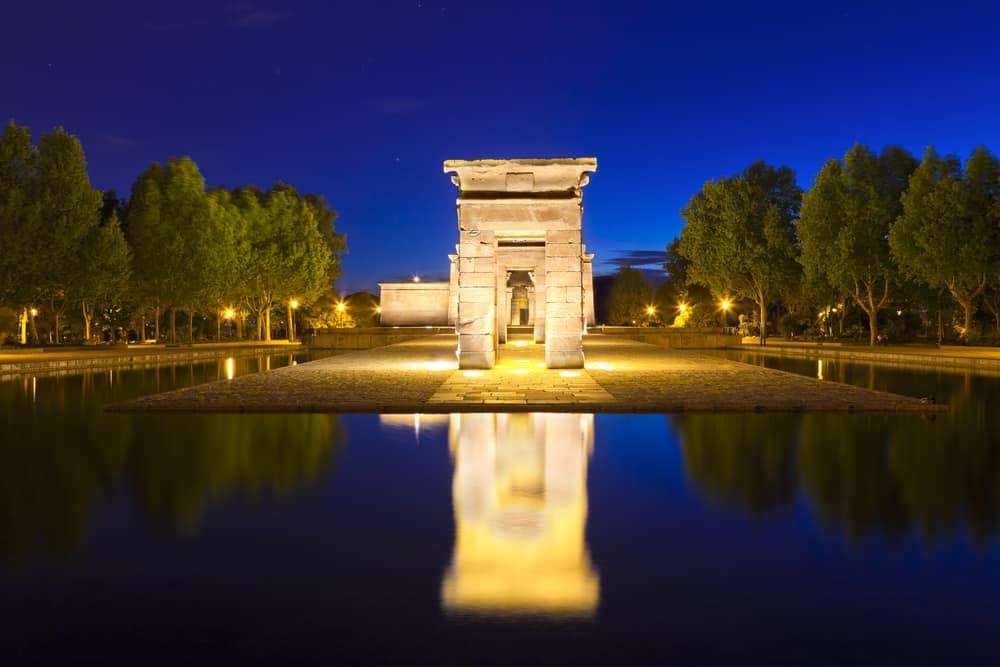 Madrid Templo de Debod (Depod Tapınağı) ve Oeste Park