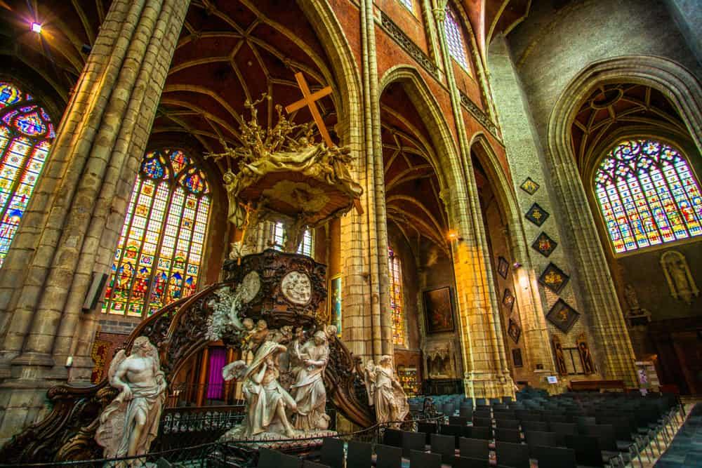 Aziz Bavo Katedrali (2) Ghent