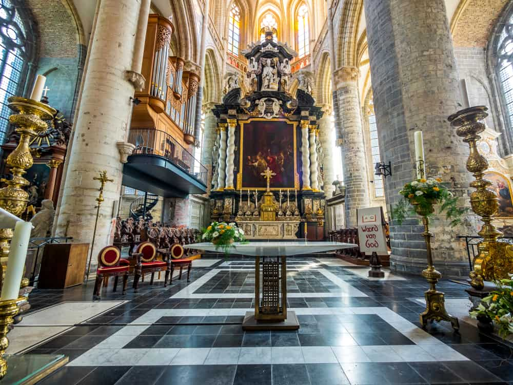 Aziz Nicholas Kilisesi (2) Ghent