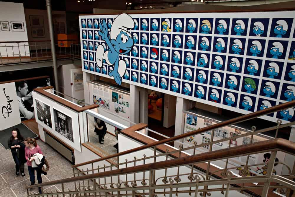 Brüksel Çizgiroman Müzesi (1)