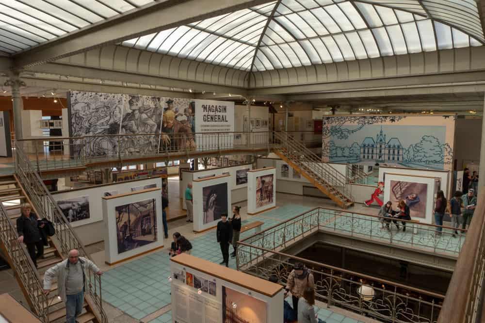 Brüksel Çizgiroman Müzesi (2)