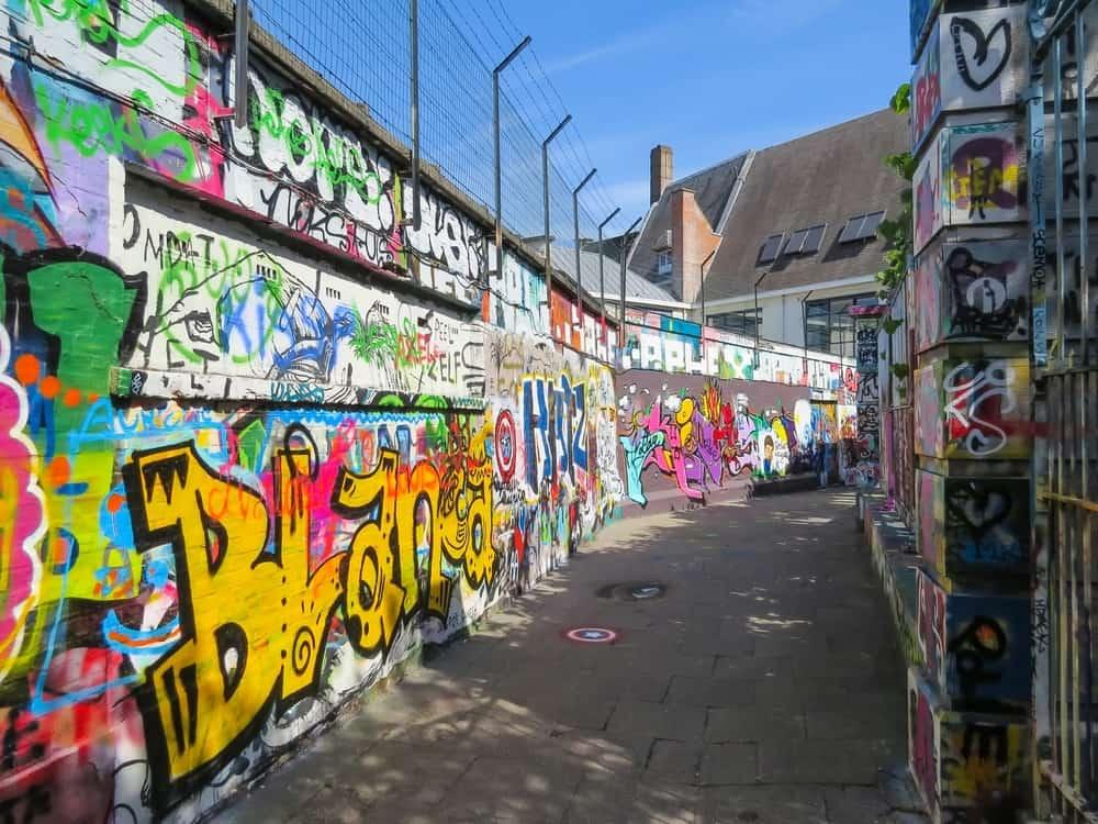 Graffiti Sokağı Ghent