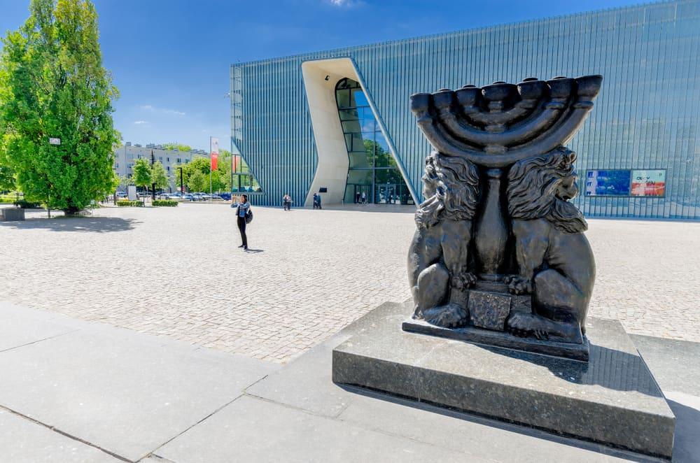 Varşova Polin- Polonyalı Yahudiler Müzesi
