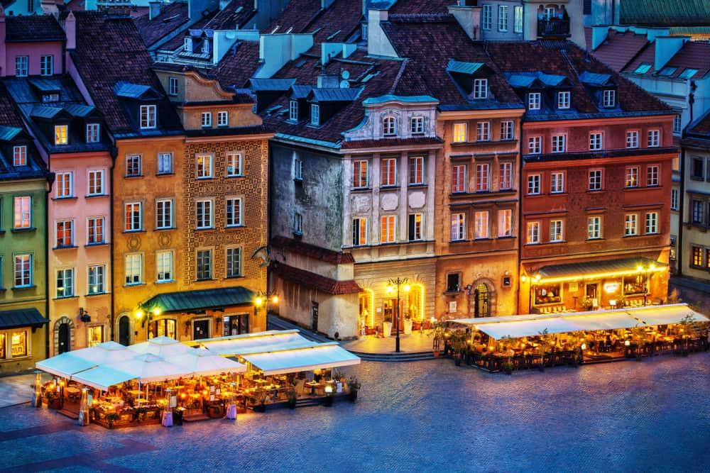 Varşova'da Yeme İçme
