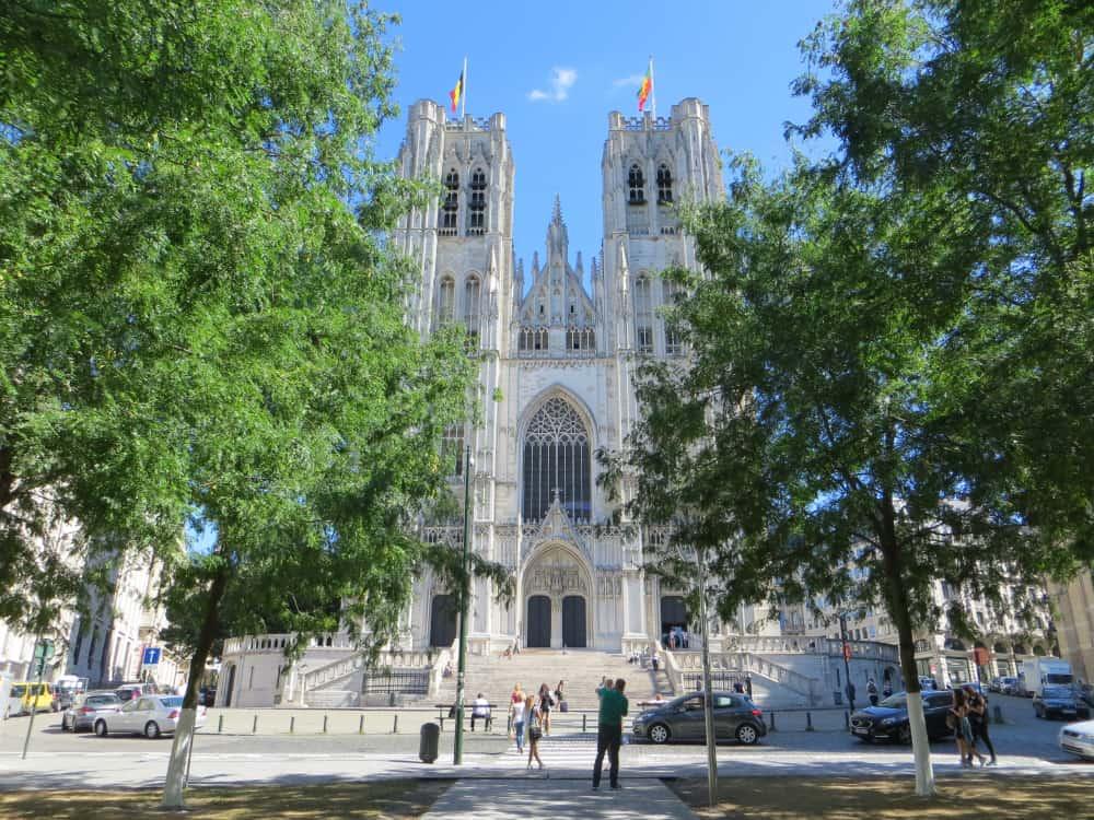St Michael ve St Gudula KatedraliBrüksel